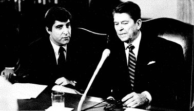 MHE and Reagan during campaign